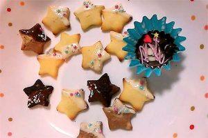 クッキー アラザン 焼く前