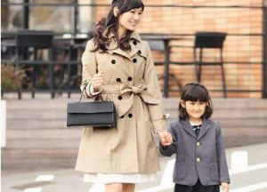 入学式 スーツ ママ コート