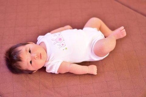赤ちゃん 夏 ロンパース